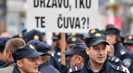 Sindikat policijskih službenika najavio prosvjed i štrajk