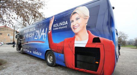 Protiv vozača autobusa koji je vozio Grabar-Kitarović podignut prekršajni nalog
