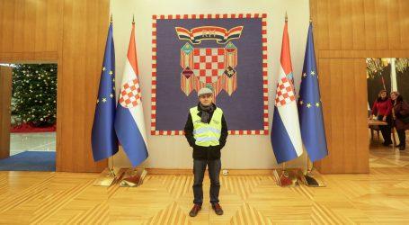 """Juričan na Pantovčaku: """"Održat ću ovu razinu kiča i staviti bistu Milana Bandića"""""""