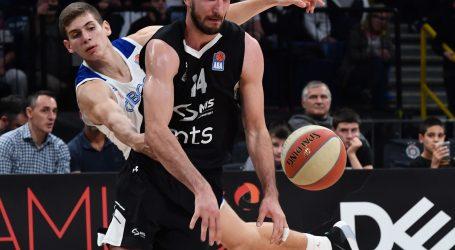 ABA LIGA Partizan u Beogradu uvjerljivo pobijedio Cibonu