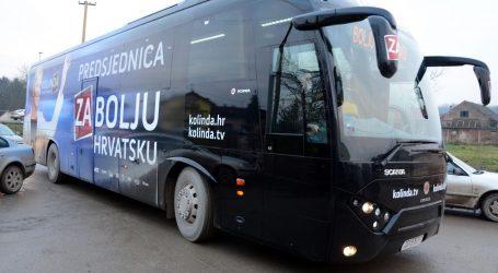 """Autobus Kolinde Grabar-Kitarović udario auto; Vozačica: """"Gorak okus mi je zbog ignoriranja"""""""