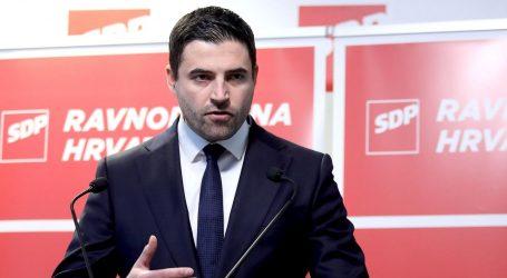 """BERNARDIĆ: """"Hrvatska je na prekretnici i izbor u drugom krugu je više nego jednostavan"""""""
