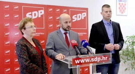 """SDP: """"Hrvatska ne smije otići u mrak ekstremne desnice i populizma"""""""