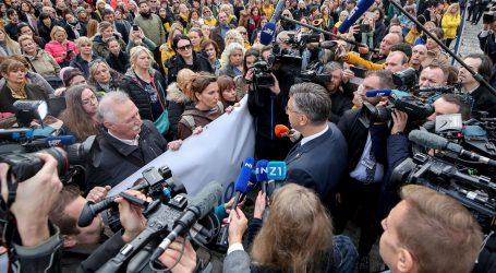 35. DAN ŠTRAJKA: U 15 sati nastavak pregovora Plenkovića i sindikata