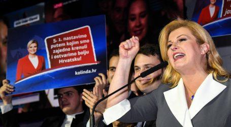 Kolinda Grabar – Kitarović odnijela pobjedu u inozemstvu