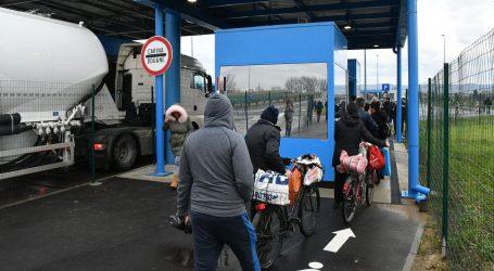 Na graničnom prijelazu u Slavonskom Brodu pješaci dobili poseban trak