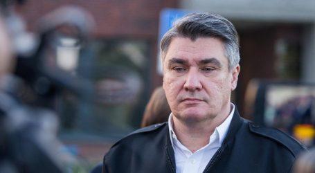 "MILANOVIĆ: ""Opasno je to što radi Kolinda Grabar-Kitarović"""