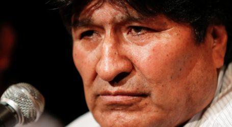 Izdan uhidbeni nalog za bivšeg bolivijskog predsjednika Moralesa