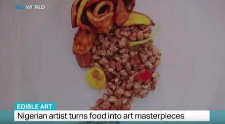 VIDEO: Nigerijska umjetnica i dekoriranje hrane
