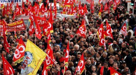 Francuzi se masovno odazvali štrajku protiv planirane mirovinske reforme