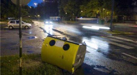Split: Policija traži osobu koja je zapalila kontejnere