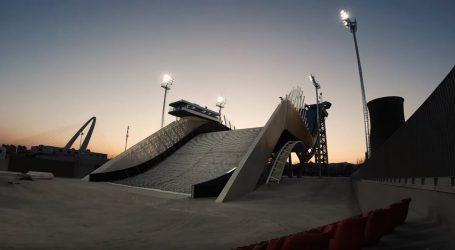 VIDEO: Nedavno otvorena olimpijska skakaonica u Pekingu