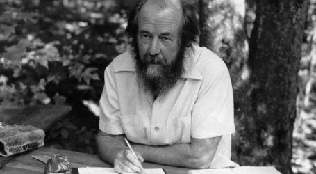 Na današnji dan 1918. rođen je Aleksandar Solženjicin