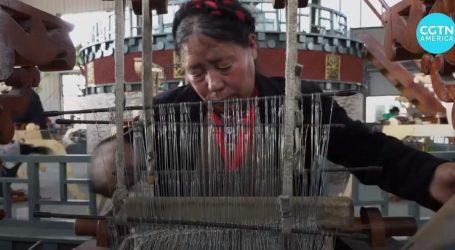 VIDEO: Tibetanska tradicija tkanja pomaže gradskom proračunu