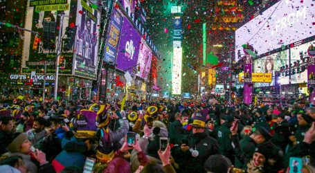 Svijet ušao u 2020. uz tradicionalne proslave i vatromet