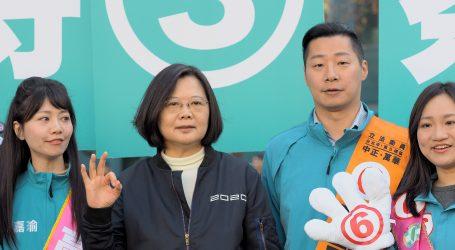 TAJVAN Otvorena birališta, očekuje se pobjeda predsjednice Tsai