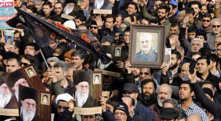 POGREB SULEJMANIJA: Tisuće ljudi u Bagdadu žaluju za ubijenim generalom