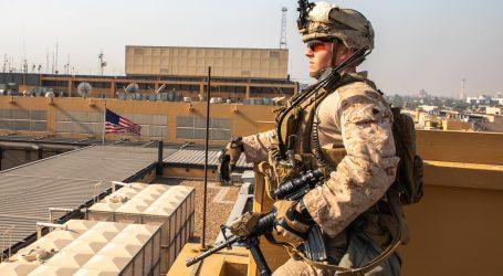 Blizu veleposlanstva SAD-a u Bagdadu pale dvije rakete, nema žrtava