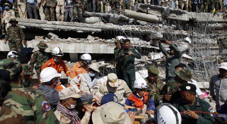 Najmanje 24 mrtvih u urušavanju zgrade u Kambodži