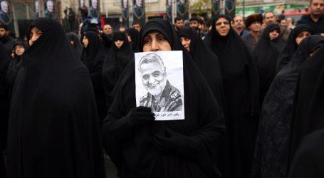 Sulejmanijevo tijelo vraćeno u Iran, deseci tisuća na dočeku