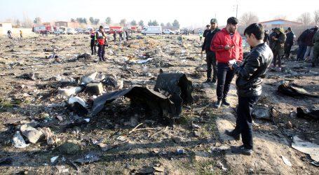Iran šalje crne kutije iz srušenog zrakoplova Ukrajini