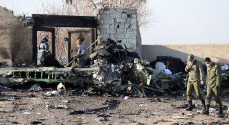 U padu zrakoplova poginula 82 Iranca, 63 Kanađana