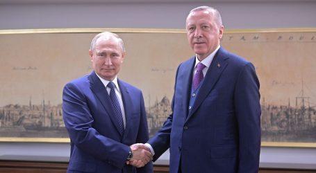 Erdogan i Putin svečano obilježili početak rada Turskog toka