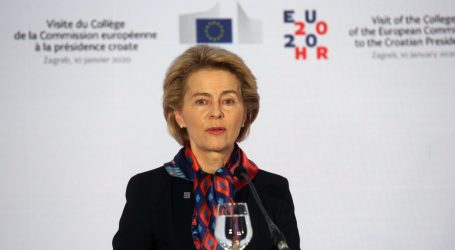"""VON DER LEYEN: """"EU može postati utjecajnija putem trgovine i posredovanja"""""""