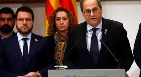 Torra ne namjerava napustiti mjesto predsjednika Katalonije