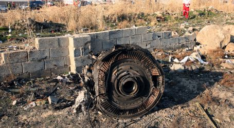 Tijela poginulih Ukrajinaca prevezena iz Irana ali crne kutije ostaju