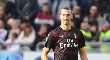 SERIE A: Ibrahimović strijelac u pobjedi Milana