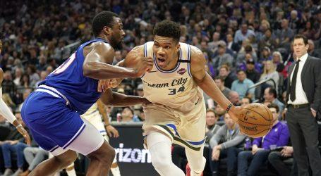 NBA: Trijumf Bucksa u Portlandu, Lakersi do pobjede bez LeBrona i Davisa