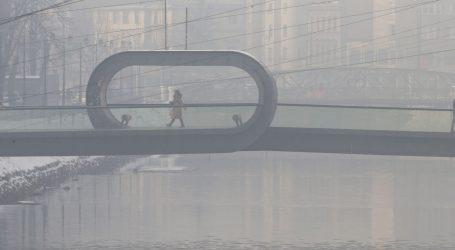 Sarajevo i u nedjelju grad s najvećim onečišćenjem zraka u na svijetu