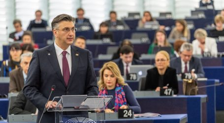 Plenković Europskom parlamentu predstavio prioritete hrvatskog presjedanja EU-om