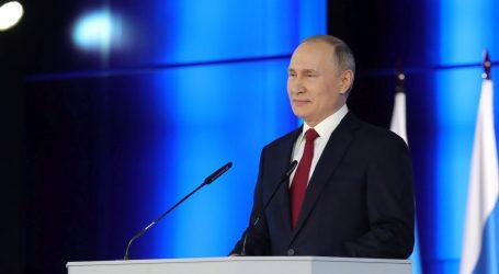 """PUTIN: """"Rusija je prvi put u povijesti svjetski lider u naoružanju, ali nikome ne prijeti"""""""