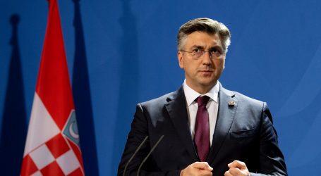 """Plenković: """"Važno je na vrijeme postići dogovor o novom europskom proračunu"""""""