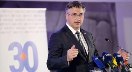 Govornici na 30. obljetnici osnutka splitskog HDZ-a izrazili potporu Plenkoviću