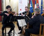 Zagrebački kvartet u Beogradu svirao u čast hrvatskog predsjedanja EU-om