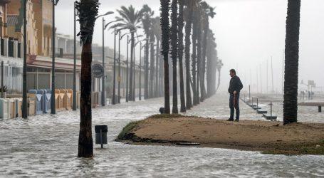 Osmero mrtvih u oluji Gloria u Španjolskoj, uništena rižina polja