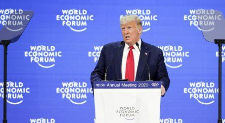 DAVOS: Trump hvalio uspjehe svoje vlade, obrušio se na proroke ekoloških katastrofa