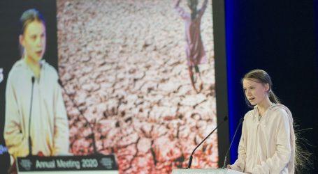 """Thunberg optužuje Davos da je """"ignorirao"""" sve zahtjeve u vezi klime"""