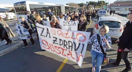 """Split: Održan mimohod """"Pravda za sve – Otpor sustavu"""""""
