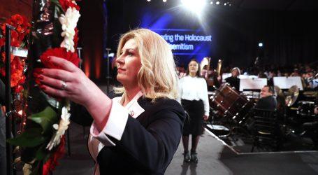"""Predsjednica iz Jeruzalema poručila da će """"nastaviti promovirati hrvatske interese"""""""