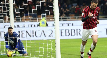 TALIJANSKI KUP Milan u polufinalu, asistencija Rebića
