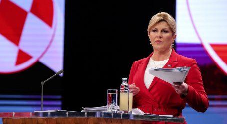 Grabar-Kitarović se 'popiknula' u izjavi o porezima i proračunu
