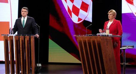 PORUKE KANDIDATA: Milanović: 'Tu sam da vam služim', Grabar-Kitarović: 'Ne dijelim, nego okupljam'