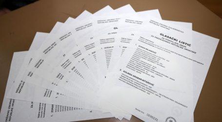 REKORD: Gotovo 90 tisuća nevažećih listića