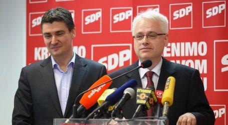 POLITICAL REPORT: U SDP-u razdori zbog Josipovića i Milanovića