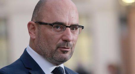 MOBILIZACIJA BIRAČA: Milijan Brkić u HDZ-ovoj središnjici u Livnu