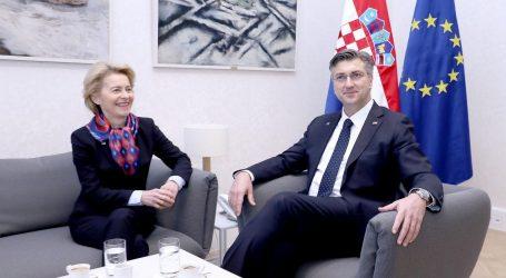 """VON DER LEYEN: """"Hrvatski prioriteti su i europski"""""""